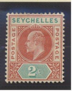 Seychelles Stamp Scott #38, Mint Hinged