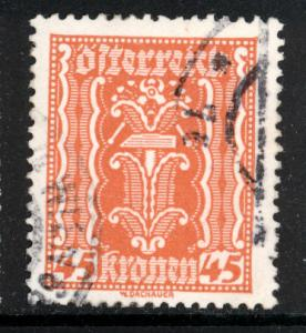 Austria 1922  Scott #263 used