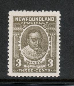 Newfoundland #89 Very Fine Mint Original Gum Hinged