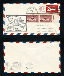 # UC20 FAM # 5 First Flight from San Francisco, CA to Panama - 12-3-1951