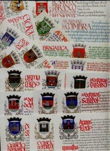 Portugal 18 MNH booklets Castles