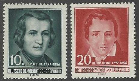 Germany DDR #284-285 MNH Set of 2
