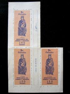 BRAZIL - SCOTT#1031a - BLK 3 - MNH - CAT VAL $12.00