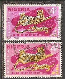 Nigeria  SC 189, 189b  Used