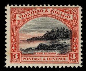 TRINIDAD AND TOBAGO GV SG232, 3c black and scarlet, LH MINT.