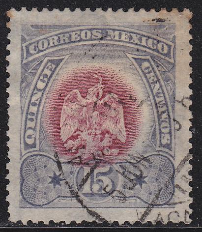 Mexico 299 Hinged Used 1899 Coat of Arms