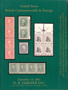 HR Harmer: Sale # 2934  -  United States, British Commonw...