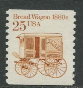 USA- Scott 2136 - Transportation - 1985 - MNG - Single 25c Stamp