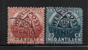 NETHERLANDS, 206-207, USED,  POST HORNS ENTWINED