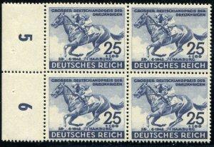Deutsches Reich   Sc.# B 205  4 Block Stamps  MNH**