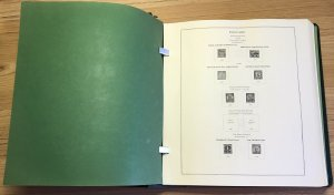 Scott National Album: 2 Post; 1929 -1988 Commemoratives & Definitives: No Stamps