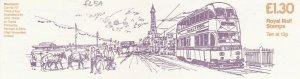 GBB100) GB FL5A 23 Apr 85 Booklet Trams £1.30 Blackpool (Sept '84)