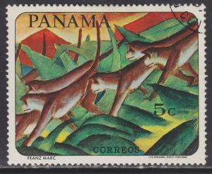 Panama 480b Monkeys, by Franz Marc 1967