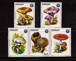 Large Muishrooms of Paraguay  5 var..mnh