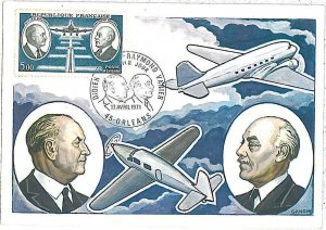 26302 - FRANCE  - POSTAL HISTORY - MAXIMUM CARD 1971 - AVIATION