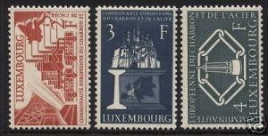 Luxembourg #315 - #317 VF Mint