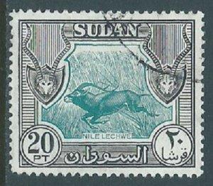 Sudan, Sc #113, 20pi Used