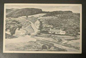 1947 The Clatterin Brig Glen O Drumtochty Scotland to Ware MA RPPC Cover