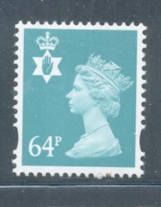 Great Britain Northern Ireland NIMH92 1999 64p Machin Head stamp  mint NH