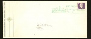 Canada 403 on Postmarked 1964 House of Commons Cover Used