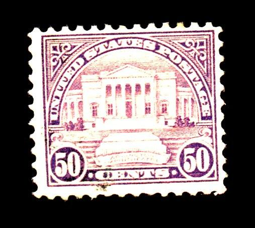 570 MINT F-VF OG LH Black dot on face Cat$32.50