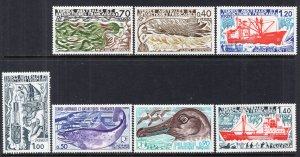 French Southern and Antarctic Territories 69-75 MNH VF