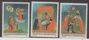 Liechtenstein Scott #1276-1277-1278 Stamps - Mint NH Set