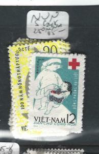 VIET NAM  (PP1005BB)   RED CROSS  SC 248, 250   MNH