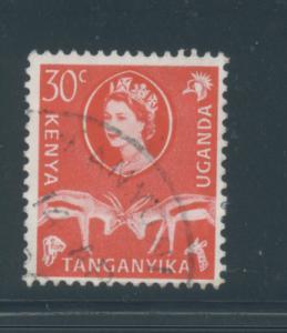 Kenya, Uganda, Tanzania 125  F  Used  cjr