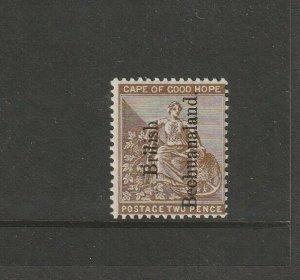 Bechuanaland 1891 QV Opts Reading Upwards 2d MM SG 32