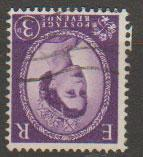 Great Britain SG 575wi  Used  watermark inverted