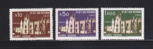 Cape Verde 293-295 Set MH Jeronymos Convent