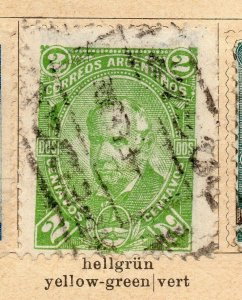 Argentina 1888-90 Early Issue Fine Used 2c. NW-11771
