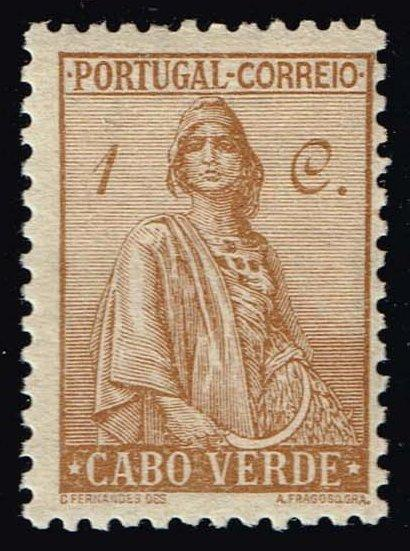 Cape Verde #215 Ceres; Unused (0.25)