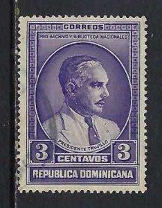 DOMINICAN REPUBLIC 313 VFU O801-7