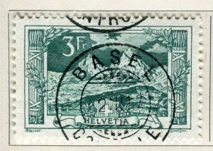 SWITZERLAND; 1914-18 early Pictorial issue fine used 3Fr. value