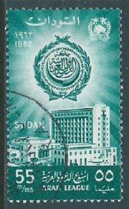 Sudan, Sc #145, 55m Used