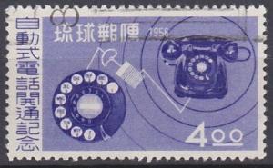 Ryukyu Islands 39 used (1956)