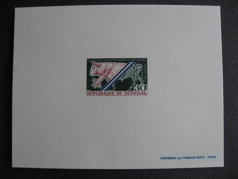 SENEGAL Sc 307 MNH proof very nice!
