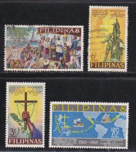 Philippines # 934-935, C91-92, Used