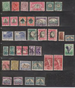 SOUTH AFRICA Lot Of Used - Nice Mix Some Minor Faults