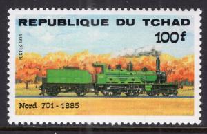 Chad 518 Train MNH VF