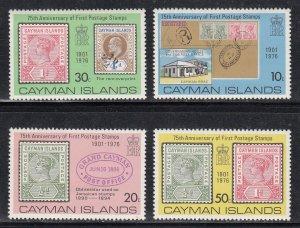 Cayman Islands Scott #368-371 MNH