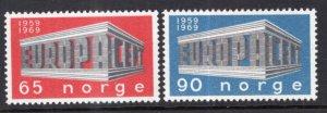 Norway 533-534 Europa MNH VF