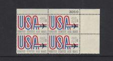 SCOTT # C75 21 CENT AIR MAIL PLATE BLOCK MINT NEVER HINGED !!