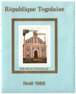 STAMP STATION PERTH Togo #1414 YTBF257 MNH S/S CV$11 Christmas 1986