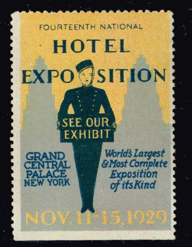 World's US Exposition, Convention, Show, Poster, Label stamp Collection LOT #B-5