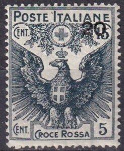 Italy #B4 MNH CV $50.00 (Z7941)