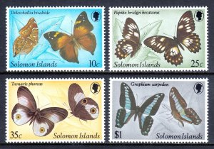 Solomon Islands - Scott #461-464 - MNH - SCV $7.00