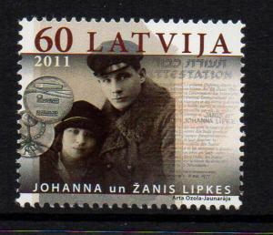 Latvia Sc 783 2011 Lipkes Rescue stamp  mint NH
